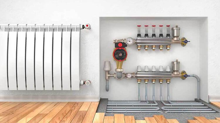 collaudo impianto di riscaldamento a pavimento