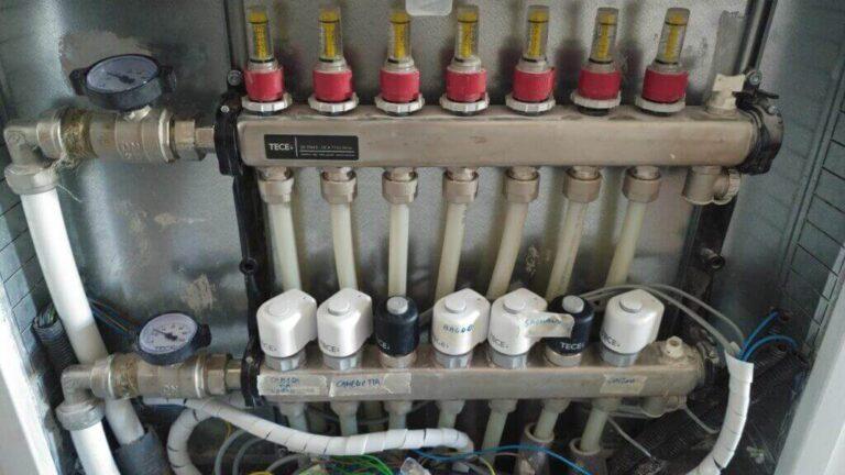 flussometri riscaldamento a pavimento