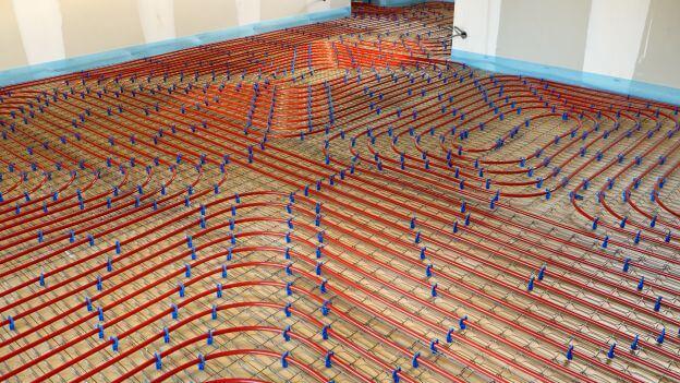 regolazione riscaldamento a pavimento